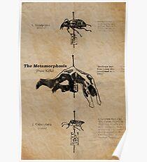 Die Metamorphose von Franz Kafka Poster