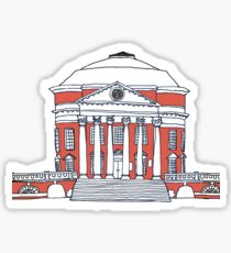 UVA rotunda color Sticker