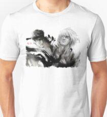 Ryu and Ken WHITE BACKGROUND BEST Unisex T-Shirt