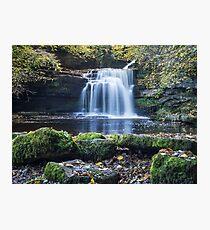 West Burton Falls Photographic Print