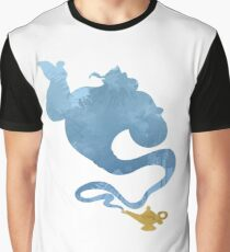 Genie Inspired Silhouette Graphic T-Shirt