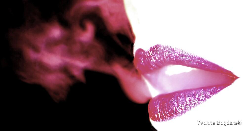 Smoking by Yvonne Bogdanski