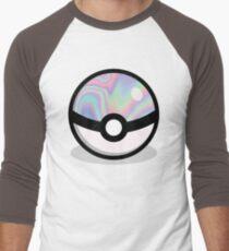 Holographic Pokeball Men's Baseball ¾ T-Shirt