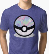 Holographic Pokeball Tri-blend T-Shirt