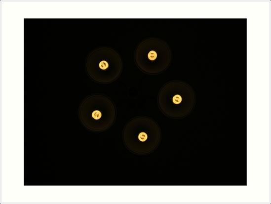 Lights in the dark by elbbubder