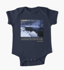 Reflection On The River In Winter Kids Clothes