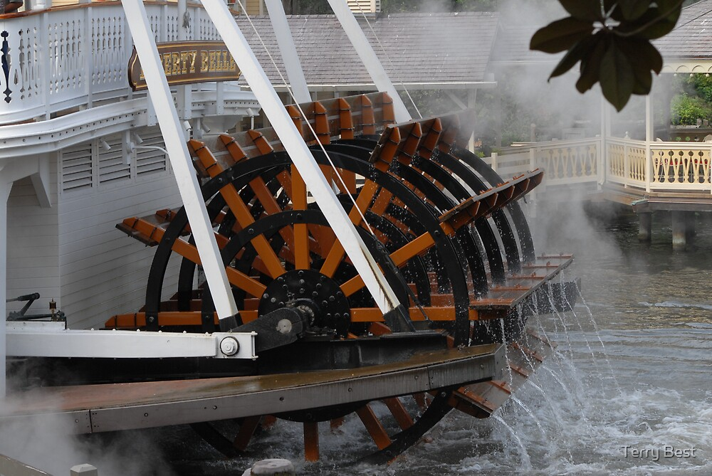 Steam Boat by Terry Best