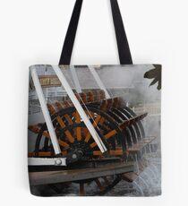 Steam Boat Tote Bag