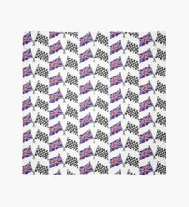 Crossed flags - Racing and Great Britain Scarf