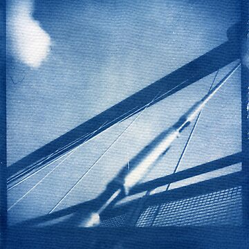 Cyanotype: Millenium Bridge, York by namke