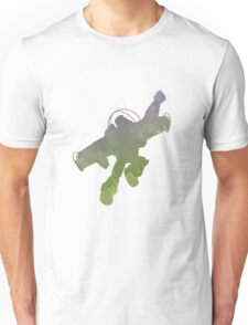 Spaceman Inspired Silhouette Unisex T-Shirt