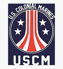 USCM US Colonial Marines Photographic Print