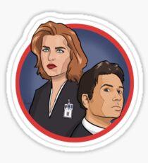 X-Files sticker #2 Sticker