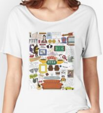 Friends Icons Women's Relaxed Fit T-Shirt