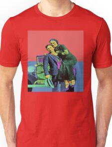 Bonnie and Clyde Pop Art Unisex T-Shirt