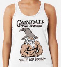 Gaindalf The Swole Racerback Tank Top