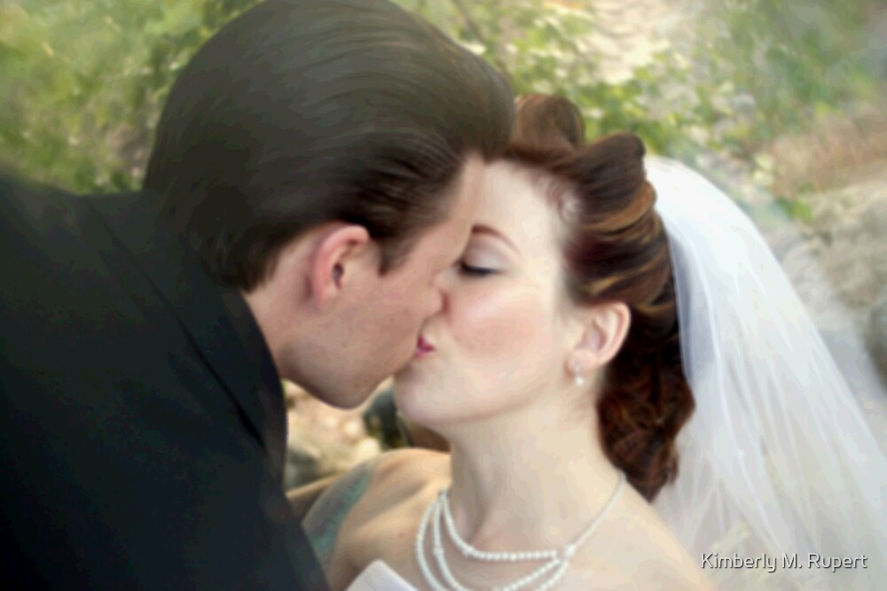 Romantic Kiss by Kimberly M. Rupert