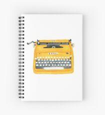 Vintage Typewriter Spiral Notebook