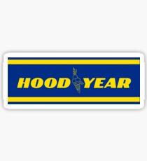 Hood Year  Sticker