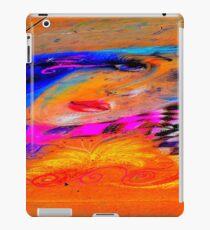 Sidewalk Lady iPad Case/Skin
