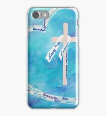 Love In Any Language Cross iPhone Case/Skin