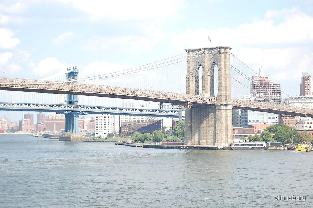 Brooklyn Bridge by slinnabary