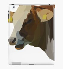 Low Poly Hilarious Cow iPad Case/Skin
