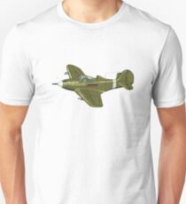 Cartoon Retro Airplane Unisex T-Shirt