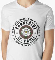ILKEY MOOR TO MILLERNTOR - LARGE Men's V-Neck T-Shirt