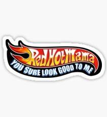 Red Hot Mama WSP Sticker