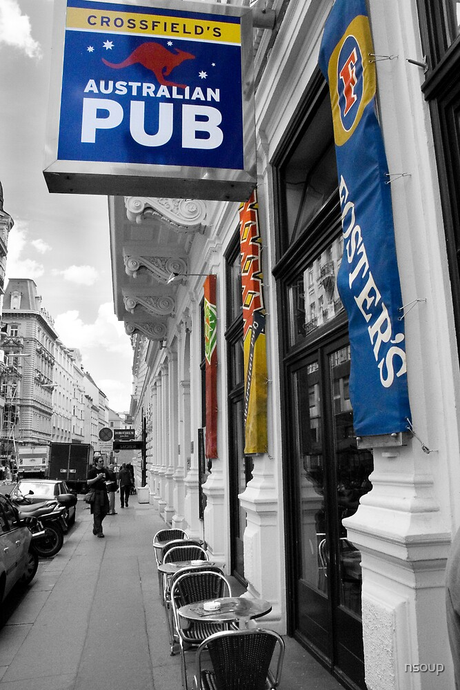 Australian pub in Austria by nsoup