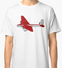 Cartoon Retro Airplane Classic T-Shirt