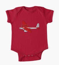 Cartoon Retro Airplane Kids Clothes