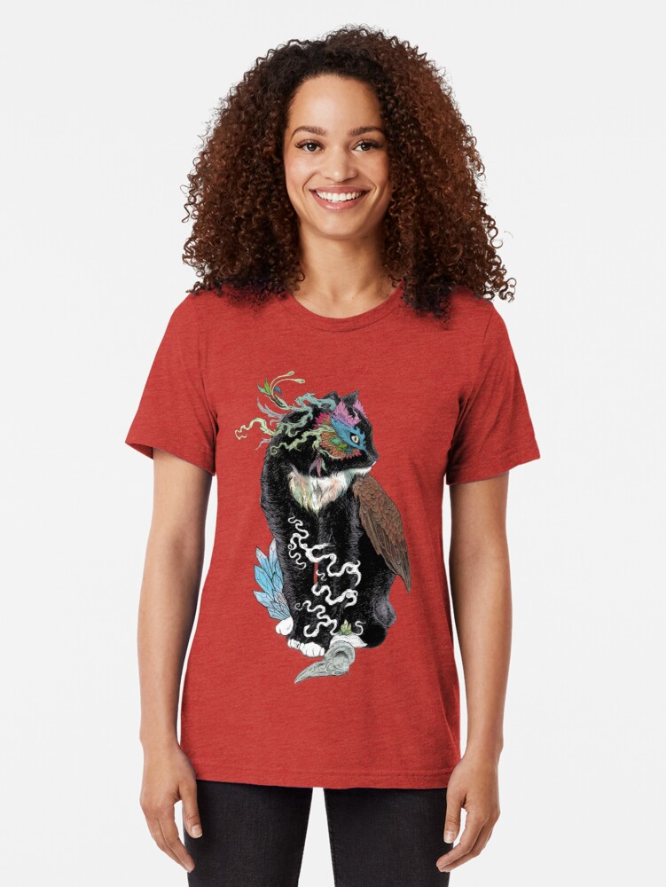 Alternate view of Black Magic Tri-blend T-Shirt