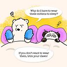 Safety Measure by Panda And Polar Bear