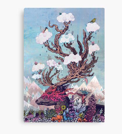 Journeying Spirit (deer) Canvas Print