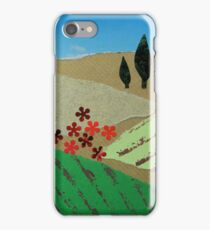Collage of Tuscany landscape iPhone Case/Skin
