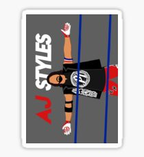 AJ Styles Sticker