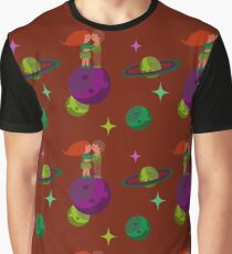 Lovers in space Graphic T-Shirt