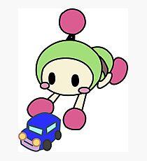 Green Bomberman - Super Bomberman R Photographic Print