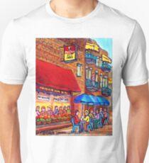 MONSIEUR HOT DOG MONTREAL CAFE VINTAGE LANDMARK Unisex T-Shirt