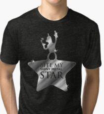 Bite My Shiny Metal Star Tri-blend T-Shirt