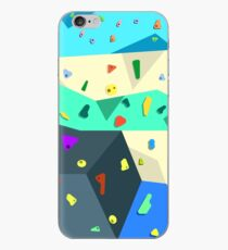 Bouldering Wall iPhone Case