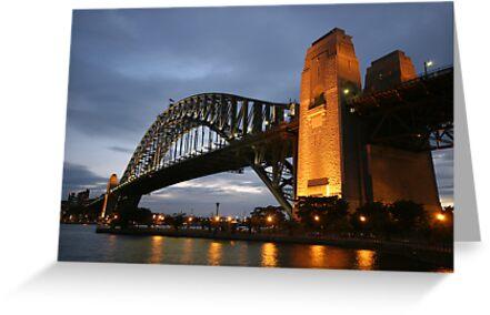 Sydney Harbour Bridge by monkeyfoto