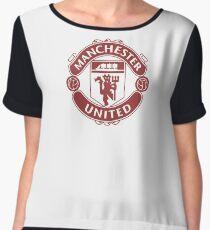 Manchester United : Glory Maroon Chiffon Top