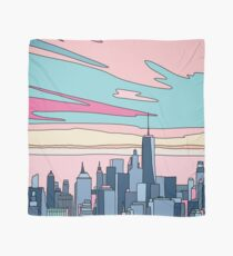 City sunset by Elebea Scarf