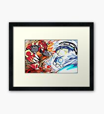 Primal Groudon | Primal Kyogre Framed Print
