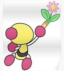 Yellow Bomberman - Super Bomberman R Poster