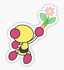 Yellow Bomberman - Super Bomberman R Sticker