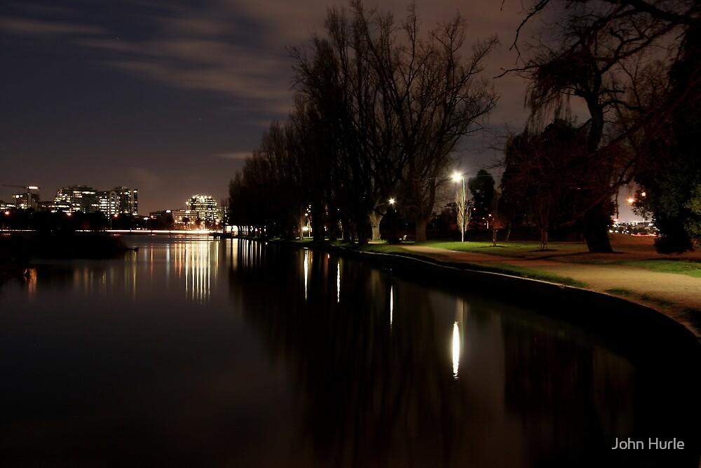 Albert Park Lake by John Hurle